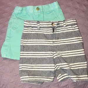 Bundle 2 JANIE & JACK shorts in one sale